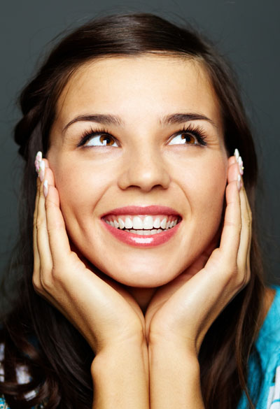 Increase your confidence by smiling!